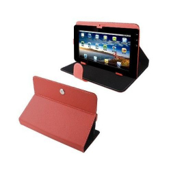 Housse universelle tablette tactile 10.1 pouces support étui Rouge - Housse tablette - www.yonis-shop.com