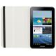Housse Samsung Galaxy Tab 3 SM T3100 étui 8 pouces support 360° Blanc - Housse tablette Samsung 8 pouces - www.yonis-shop.com