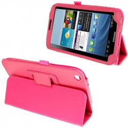 Housse Samsung Galaxy Tab 3 SM T3100 étui 8 pouces support Rose