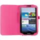Housse Samsung Galaxy Tab 3 SM T3100 étui 8 pouces support Rose - Housse tablette Samsung 8 pouces - www.yonis-shop.com