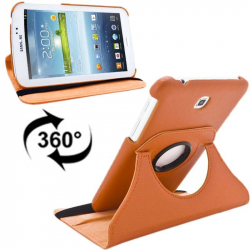 Housse Samsung Galaxy Tab 3 P3200 étui 7 pouces support 360° Orange