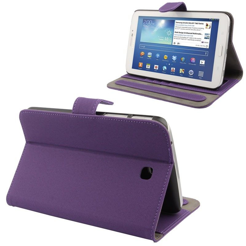 Housse samsung galaxy tab 3 gt p3200 tui 7 pouces tissu for Housse tablette samsung