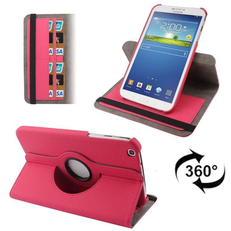 Housse samsung galaxy tab 3 sm t3100 tui 8 pouces 360 for Housse tablette samsung
