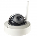 Caméra IP Android Windows IOS Vidéo Surveillance Plug and Play IP65 P2P ONVIF Vision Nocturne Wifi Blanche - Camera IP - www....