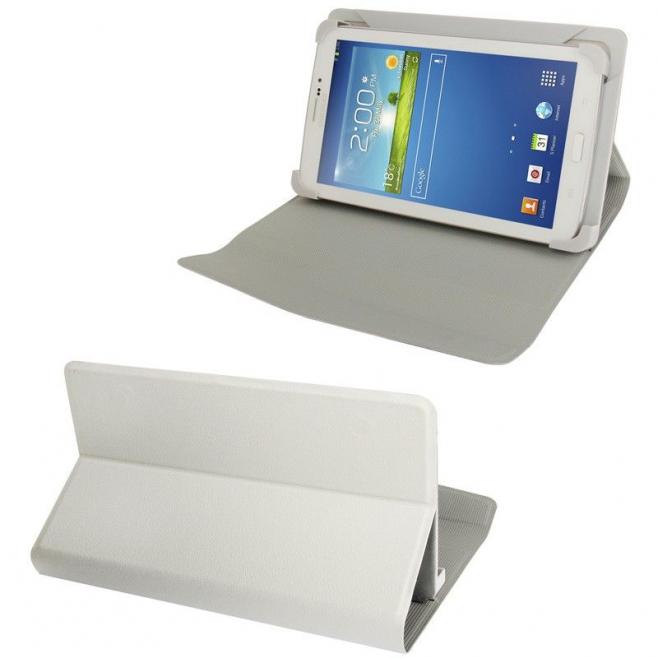 Housse universelle tablette tactile 7 pouces étui ajustable Blanc - Housse tablette - www.yonis-shop.com