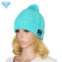 Bonnet Bluetooth Compatible Android iPhone Ecouteur Sans Fil Turquoise