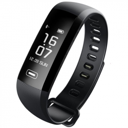 Bracelet Connecté Sport iOS Android Smart watch Etanche Podomètre Noir