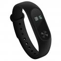Bracelet Connecté Android iOS Montre Bluetooth Fréquence Cardiaque Podomètre IP67 OLED Circulaire Noir - Bracelet connecté - ...