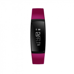 Montre Connectée Sport iPhone Android Smartwatch Appels IP67 Fushia - Bracelet connecté - www.yonis-shop.com