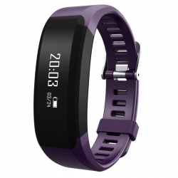 Montre Connectée Sport iPhone Android Smartwatch IP65 Cardio Violet