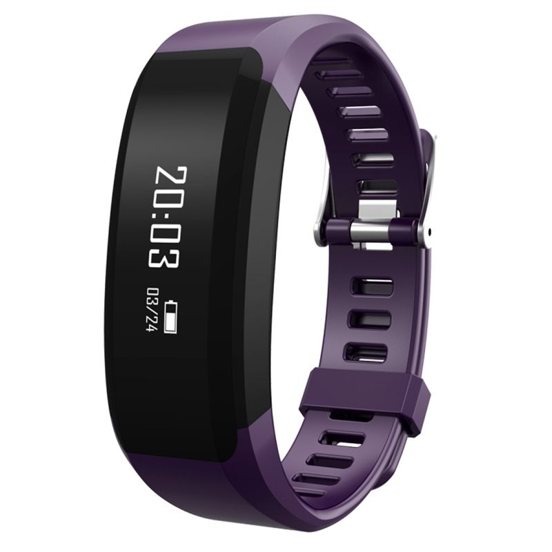 montre connect e sport iphone android smartwatch ip65 cardio violet. Black Bedroom Furniture Sets. Home Design Ideas