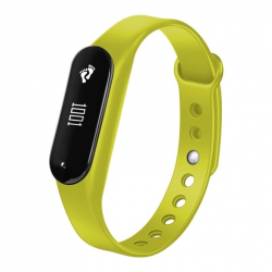 Bracelet Sport iOS Android Montre Connectée IP65 Bluetooth 4.0 Appel Cardio Vert