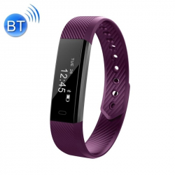 Smart Watch Iphone Android Bracelet Connecté Imperméable IP67 Violet - Bracelet connecté - www.yonis-shop.com