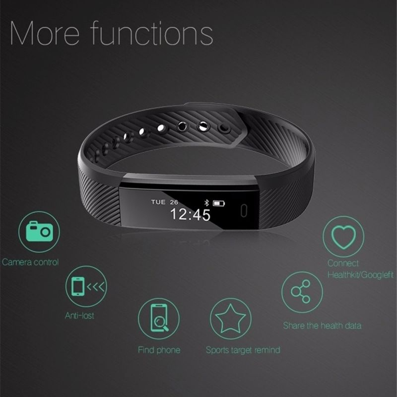 Bracelet smart waterproof watch
