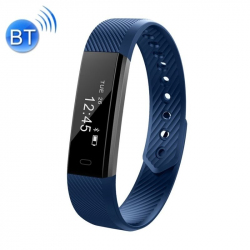 Montre Connectée Sport iPhone Android Smartwatch Etanche IP67 Bleu
