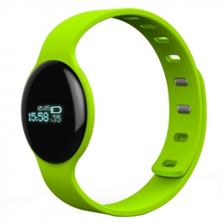 Montre Bluetooth Android iOS Bracelet Connecté Notification SMS Vert