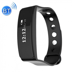 Bracelet Sport iOS Android Montre Connectée Imperméable Écran OLED IP66 Bluetooth Tracking Noir