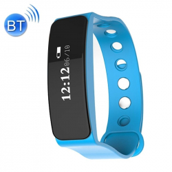 Bracelet sport Imperméable IP66 Bluetooth iOS Android Tracking Bleu - Bracelet connecté - www.yonis-shop.com