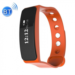 Bracelet sport Imperméable IP66 Bluetooth iOS Android Tracking Orange - Bracelet connecté - www.yonis-shop.com