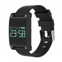 Montre Connectée Sport Android iPhone Smartwatch Tactile IP67 Noir - Bracelet connecté - www.yonis-shop.com
