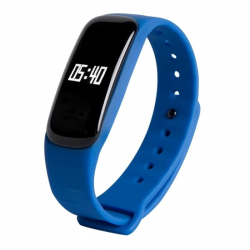 Montre Intelligente IOS Android Bracelet Sport Compteur Calories Bleu