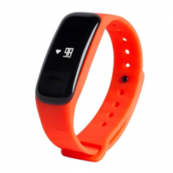 Smart Watch Phone IOS Android Bracelet Connecté Fit Calories Orange - Bracelet connecté - www.yonis-shop.com