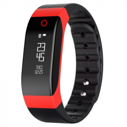 Smart Watch Phone IOS Android Montre Connectée Fitness Sommeil Rouge