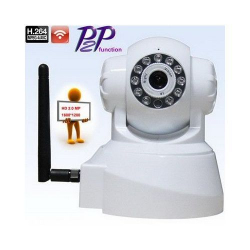Caméra surveillance IP HD 720P WIFI motorisé iPhone Smartphone Blanc - Camera IP - www.yonis-shop.com