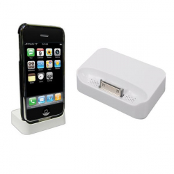 Station d'accueil iPhone 3G 3GS dock de synchronisation chargeur