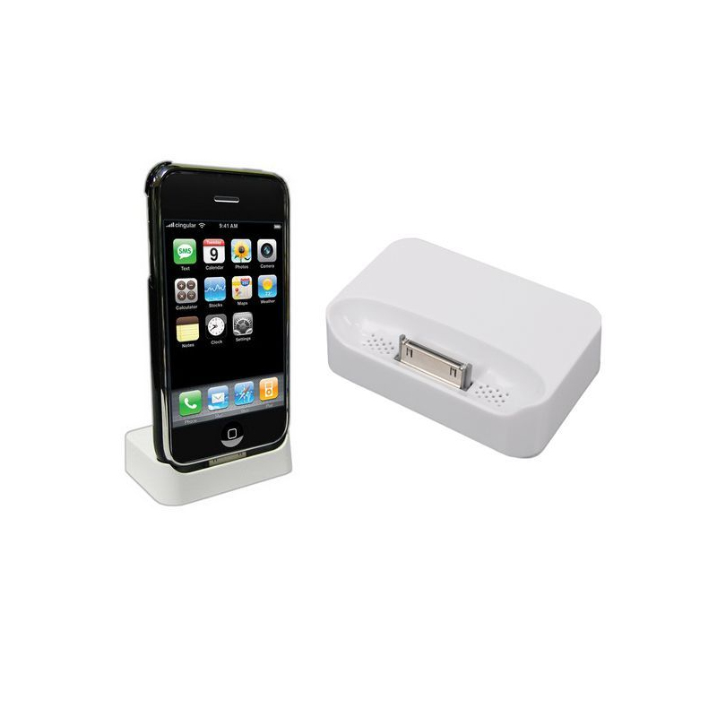station d 39 accueil iphone 3g 3gs dock de synchronisation. Black Bedroom Furniture Sets. Home Design Ideas