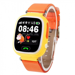 Montre GPS Enfant IOS Traceur GSM QuadBand SMS Alerte Appel SOS Orange - Montre connectée - www.yonis-shop.com