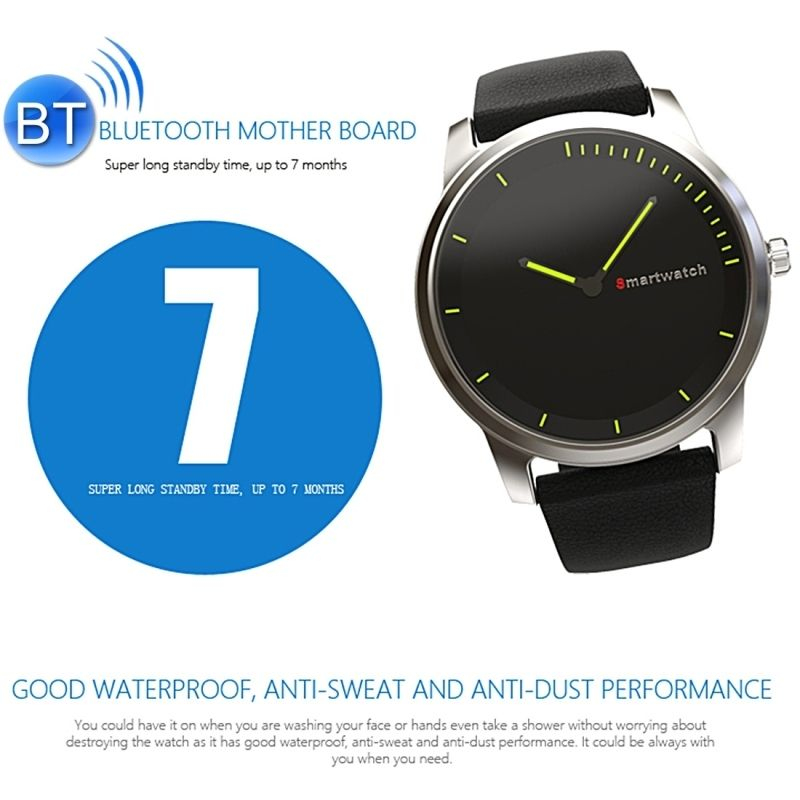 montre connect e sport android ios smartwatch bluetooth waterproof. Black Bedroom Furniture Sets. Home Design Ideas