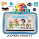Tablette tactile enfant YOKID quad core 7 pouces Android 5.1 Bleu - Tablette tactile enfant - www.yonis-shop.com