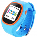Tracker GPS Android iPhone LBS Sécurité Enfant Geolocalisation Bleu - Montre GPS - www.yonis-shop.com