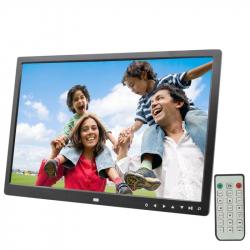 """Cadre Photo Numérique 17\\"""" HD LED Lecteur Multimédia USB Lecteur Vidéo - Cadre photo numérique 17 pouces - www.yonis-shop.com"""