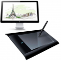Tablette Graphique 8x5 Pouces Compatible Windows Mac Palette Dessin 3D - Tablette graphique - www.yonis-shop.com