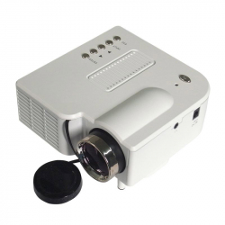 Mini vidéoprojecteur LED 95W 50 Lumens Full HD 1080p Blanc - Videoprojecteur - www.yonis-shop.com