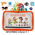 Tablette tactile enfant YOKID 7 pouces quad core Android 5.1 Orange 24Go - Tablette tactile enfant - www.yonis-shop.com