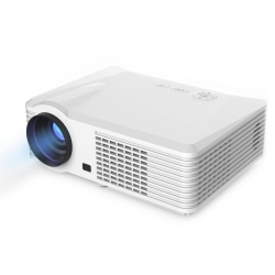 Vidéoprojecteur Android 4.4 WiFi Full HD 1080p 1GB RAM 2500 Lumens Focale courte 8GB ROM Blanc