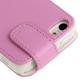 Housse iPhone 5C clapet magnétique simili cuir Rose clair 4 pouces - Housse / étui iPhone - www.yonis-shop.com