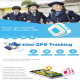 Mini Traceur Compatible Android iOS GPS Collier GSM Quadri-Bande Wifi AGPS Bouton SOS Chute Bleu - Traceur GPS - www.yonis-sh...