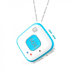 Tracker GPS GPRS WIFI Traceur SOS Alarme Chute Geolocalisation Bleu - Traceur GPS - www.yonis-shop.com