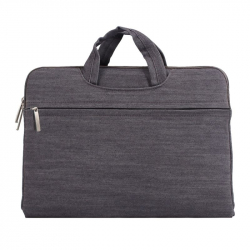 Sacoche Ordinateur Portable 15 Pouces Housse PC Macbook Antichoc Gris - Sacoche ordinateur portable - www.yonis-shop.com