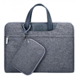 Sacoche PC Macbook 15 Pouces Housse Ordinateur Portable Antichoc Gris - Sacoche ordinateur portable - www.yonis-shop.com