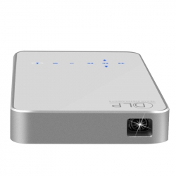 Pico Projecteur Android 4.4 Vidéoprojecteur Portable Multimédia Wifi 1 Go RAM 16 Go ROM Bluetooth HDMI Blanc