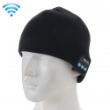 Bonnet Bluetooth iPhone Android Ecouteur Sans Fil Mains Libres Noir