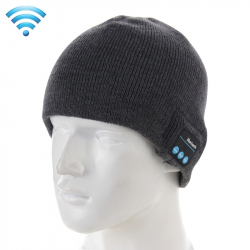 Bonnet Connecté iPhone Android Ecouteur Bluetooth Micro Intégré Gris - Bonnet Bluetooth - www.yonis-shop.com