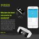 Smartwatch iOS Android Montre Running Compteur Calories Météo Rouge - Bracelet connecté - www.yonis-shop.com