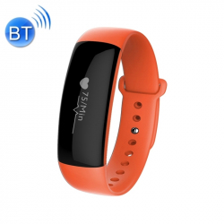Bracelet Sport iPhone Android Montre Connectée Etanche IP67 Orange