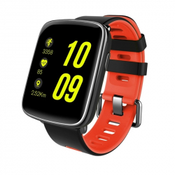 Montre intelligente Fitness Smartwatch Connectée Android iOS Tactile Bluetooth V4.0 IP68 Rouge - Montre connectée - www.yonis...